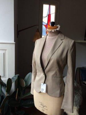 H&M Blazer, Viscose-Mischung, schönes Material, figurbetont, mit Etikett, NEU