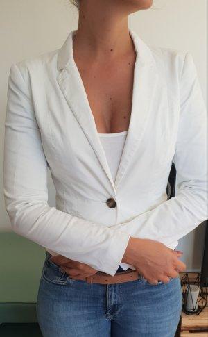 H&M Blazer - weiß - Größe 36