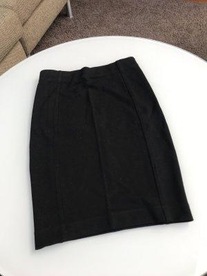 H&M Falda de tubo negro