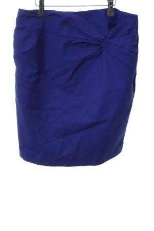 H&M Bleistiftrock blau Business-Look