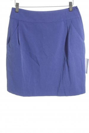 H&M Bleistiftrock blau Business-Look