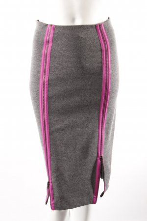 H&M Pencil Skirt grey-purple