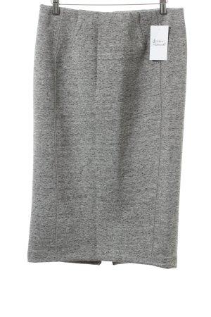 H&M Bleistiftrock hellgrau meliert Street-Fashion-Look