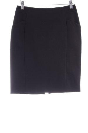H&M Kokerrok zwart zakelijke stijl