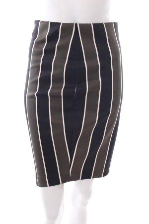 H&M Bleistiftrock Streifenmuster klassischer Stil