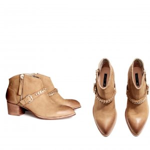 h&m Blogger Pistolboots boots leder Style Ankle boots Zara Mango Cos