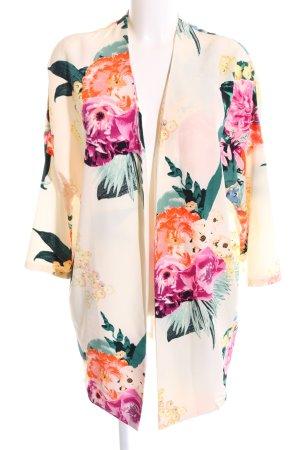 H&M Blusón estampado floral estilo «business»
