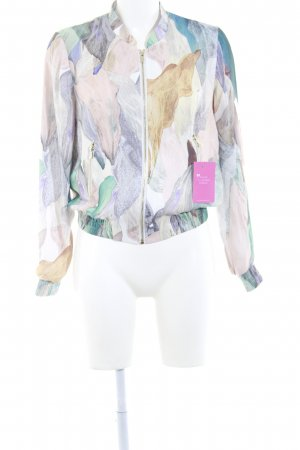 H&M Blouson abstract pattern '90s style