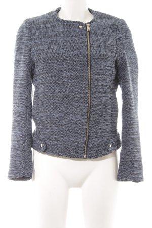 H&M Blouson blau-schwarz meliert Business-Look
