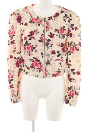 H&M Blouson Blumenmuster Casual-Look