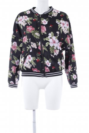 H&M Blouson Blumenmuster Street-Fashion-Look