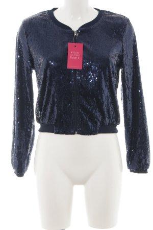 H&M Blusón azul brillante