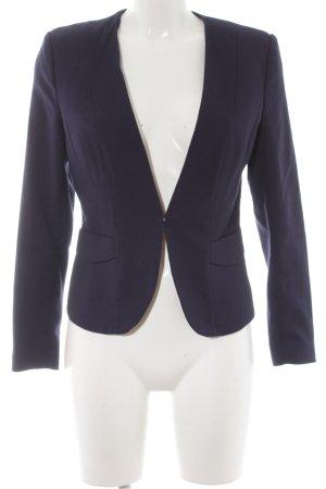 H&M Blouson dunkelblau Business-Look