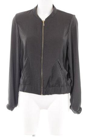 H&M Blouson dunkelgrün Casual-Look