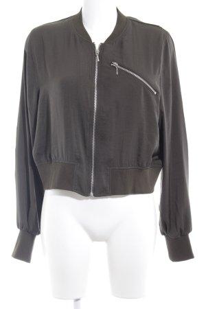 H&M Blouson grüngrau Casual-Look