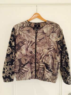 H&M Blouson Jacke florales Muster gr 40