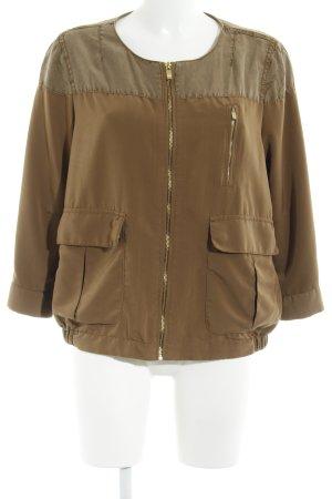 H&M Blouson olivgrün Casual-Look