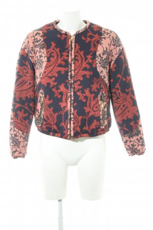 H&M Blouson Ornamentenmuster Casual-Look