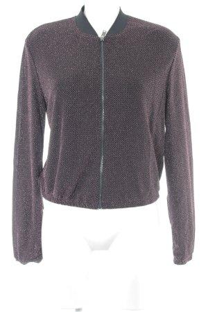 H&M Blouson schwarz-magenta Casual-Look