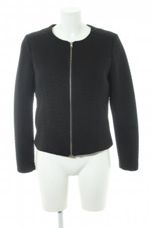H&M Blouson schwarz Steppmuster Casual-Look