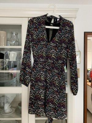 H&M Blümchen Chiffon Kleid neu