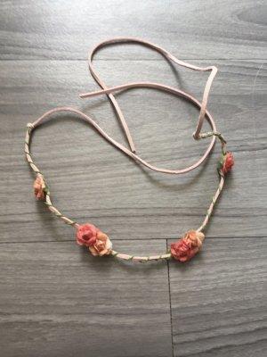 H&M Blumen-Band Haarschmuck rot