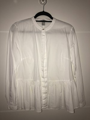 H&M Carmen Blouse white