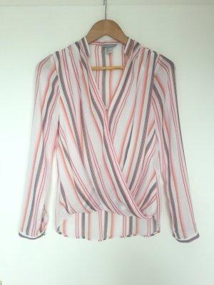 H&M Bluse 34 gestreift