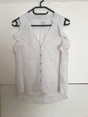 H&M Sleeveless Blouse white-natural white