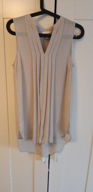 H&M Blouse sans manche rose chair-beige clair