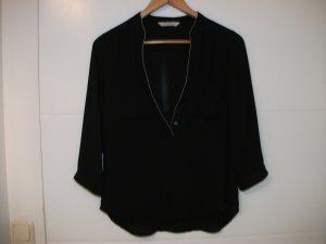 Balmain for H&M Blouse zwart-zilver