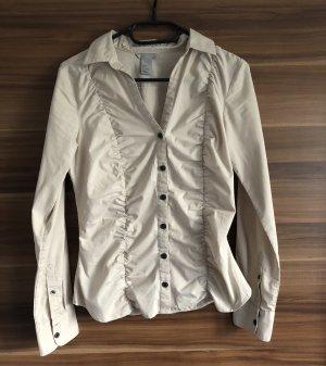 H&M Bluse beige Creme Gr. S 36 * NP € 35* NEU