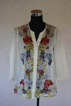 H&M Bluse Blumen Blumenmuster Flower Print Blogger
