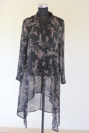 H&M Bluse, Divided Grey, Vokuhila Bluse, blogger