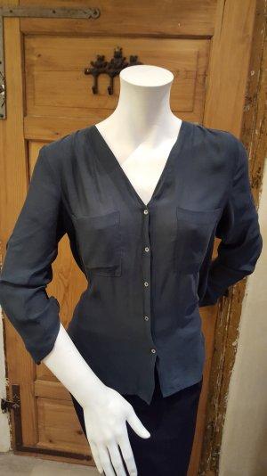 H&M Bluse dunkelgrün Gr.38