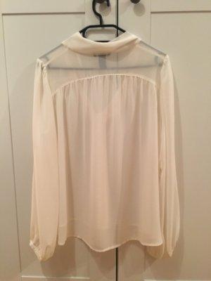 H&M Bluse durchsichtig