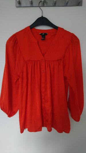 H&M Kimono blouse donker oranje