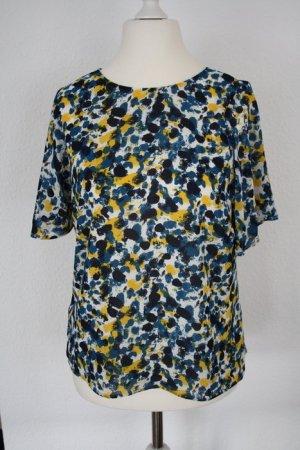 H&M Bluse gefleckt bunt