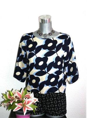 H&M Bluse Gr. 38/40 Flower Crop Top