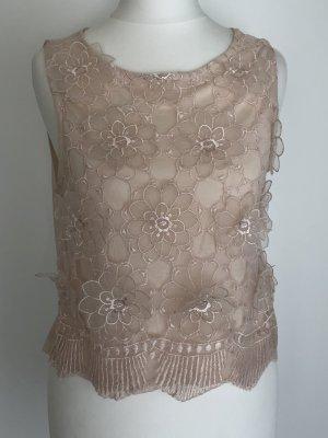 H&M Camicetta a blusa rosa antico Poliestere