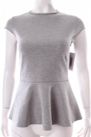 H&M Bluse grau klassischer Stil