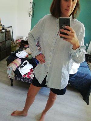 H&M Bluse Hemd Hemdbluse Streifen Oversize Boyfriend