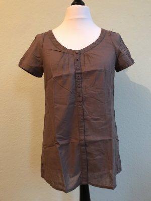 H&M Bluse in braun, Größe 40