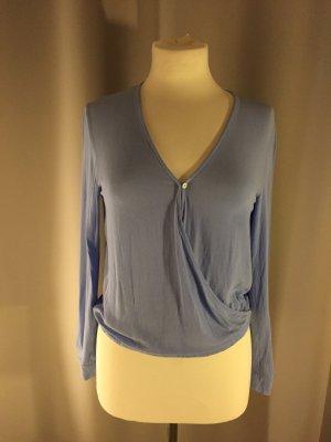 H&M Bluse in schönem Blauton