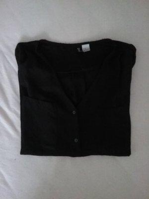 H&M Bluse in schwarz