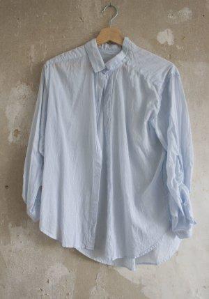 H&M Bluse mit blauen Streifen