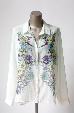 H&M Bluse mit floralem Print