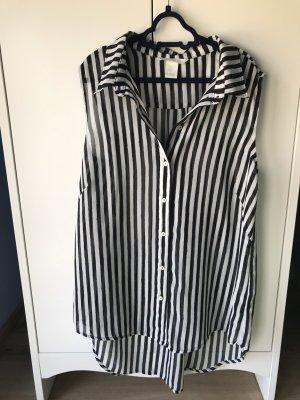 H&M Bluse mit Knöpfen Hemd gestreift Größe 34