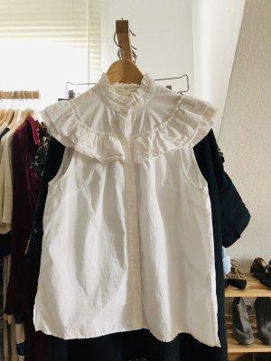 H&M Bluse mit Rüschen