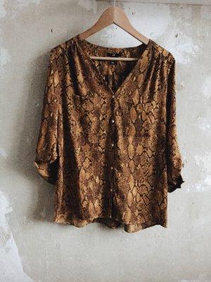 H&M Bluse mit Snakeprint